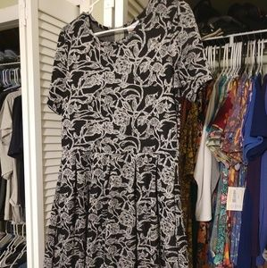 LuLaRoe Amelia Dress, XL, EUC